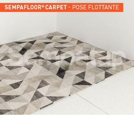 SempaFloor Carpet, isolation phonique sous moquette