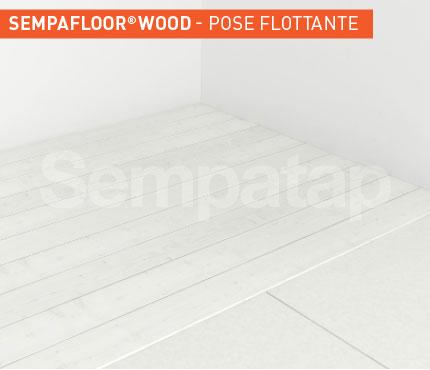 SempaFloor Wood, isolation phonique sous parquet flottant